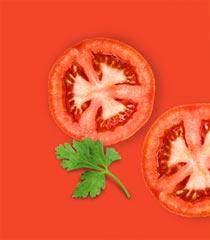 NOA Gemüsescheiben<br> Paprika Tomate
