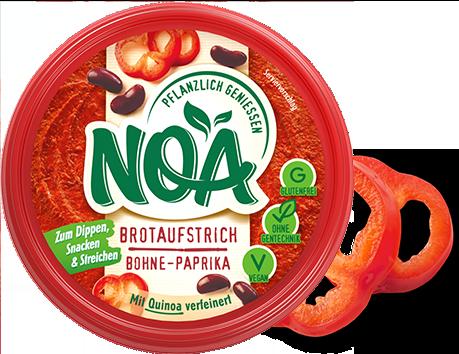Aufstrich Bohne-Paprika