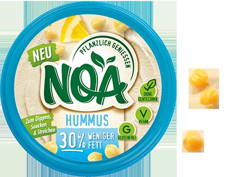 Aufstrich Hummus 30% weniger Fett