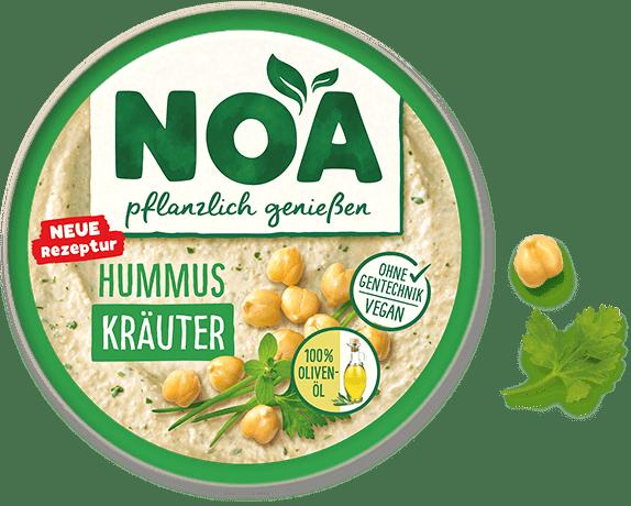 Aufstrich Hummus Kräuter