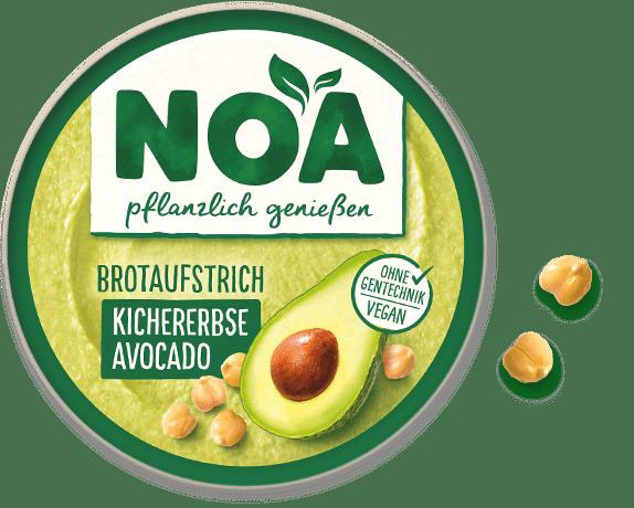Aufstrich Kichererbse-Avocado