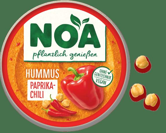 Aufstrich Hummus Paprika-Chili