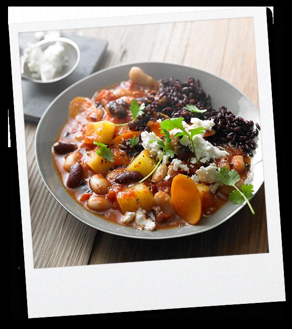 Tomaten-Bohnen-Stew