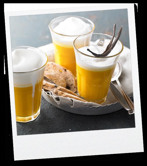 Butternutkürbis-Vanille Suppe