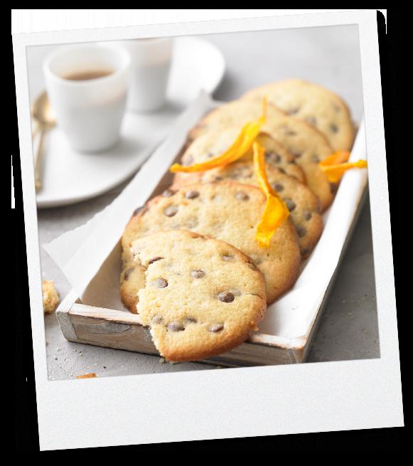 Schokoladen Cookies mit Tahini