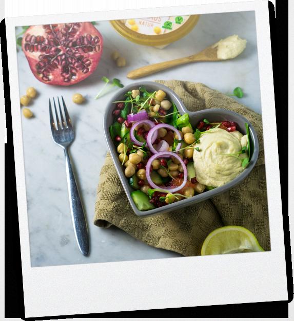 Granatapfel Salat