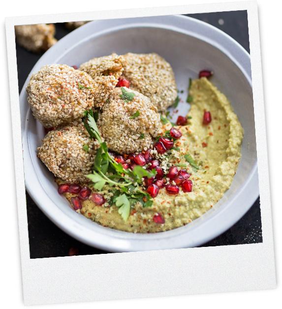 Sesam-Falafel