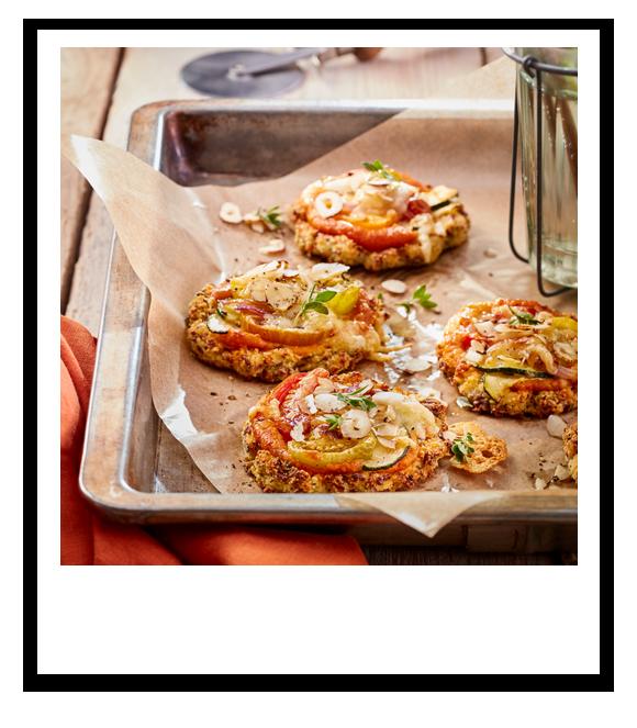 Vegane Blumenkohl-Pizza